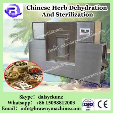 Conveyor belt microwave olive leaves dryer and sterilizer