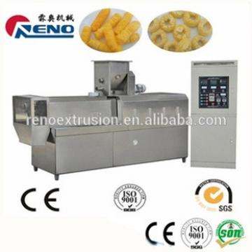 screw extruder for puff snack making from industry factory