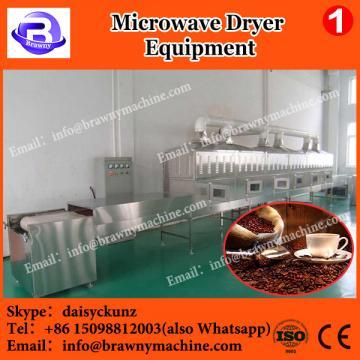Tunnel microwave dryer / sterilization for yam flour