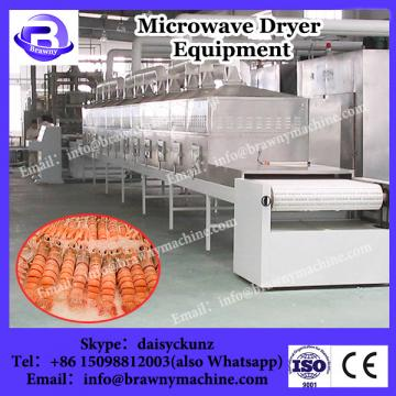 Continuous type microwave Pork floss dryer sterilizer equipment
