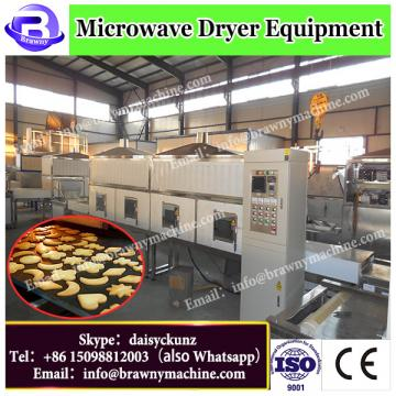 Industrial raw shell charcoal microwave dryer machine