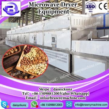 Conveyor belt microwave honeysuckle dryer sterilizer--Industrial continuous type dryer