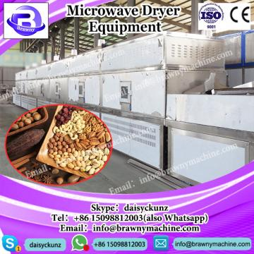 Industrial Conti microwave drying sterilization machine for rose / lily flowers / buds