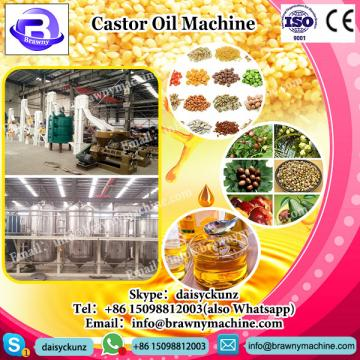 PLC system castor oil refinery machine