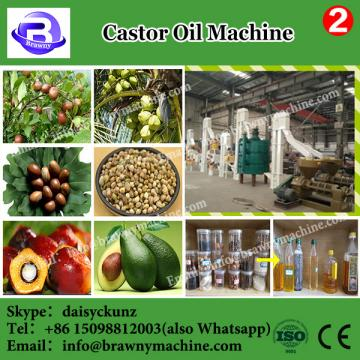Imported castor oil extraction process