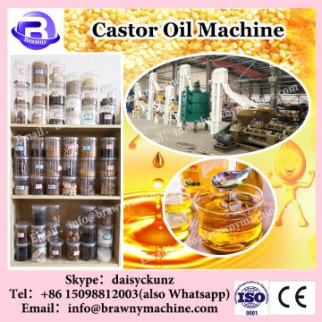 Competitive price high technology crude castor oil refining machine price