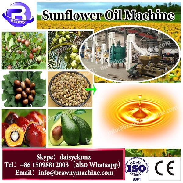 Small cold press sunflower soybean cotton peanut seed screw oil press machine #3 image