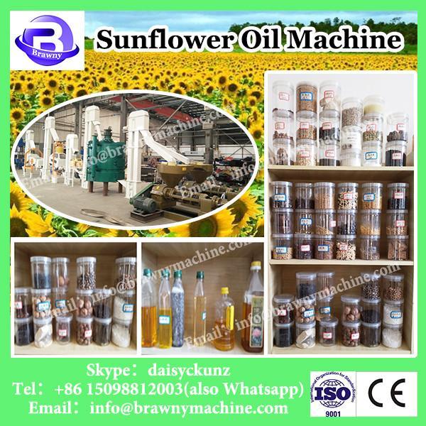 Small cold press sunflower soybean cotton peanut seed screw oil press machine #1 image