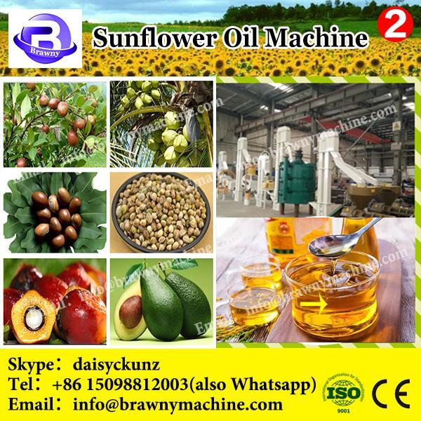 Small cold press sunflower soybean cotton peanut seed screw oil press machine #2 image